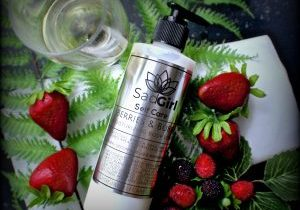 berries and bubbly lotion